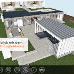 Visualisierung eines Hauses: Mit Xuver können Planer und Architekten den Online-Bedürfnissen heutiger Verbraucher gerecht werden: Diese möchten alles aus allen Blickwinkeln sehen. Bild: Xuver