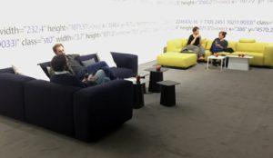 Ausstellung Open Codes im ZKM Karlsruhe, Ausstattung durch Feco-Feederle