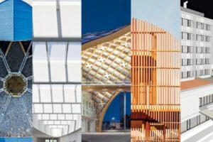 Zusammenschnitt mehrerer Gebäudefotos