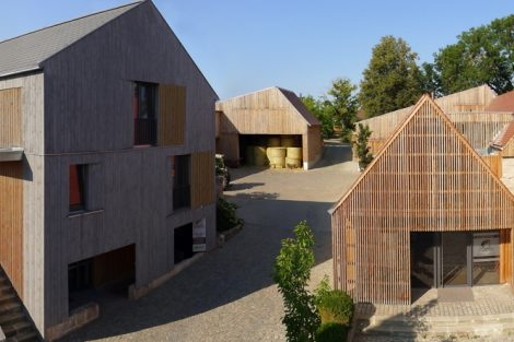 Hofstelle Stiegler, Gonnersdorf, Landkreis Fürth/ Mittelfranken. Architekten: Dürschinger Architekten, Fürth. Bild: Deutscher Landbaukultur-Preis