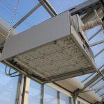 LED-System: Fraunhofer-Forschende untersuchen u. a. den Einfluss von Beleuchtungsszenarien auf Pflanzenwachstum und -qualität. Bild: Fraunhofer UMSICHT