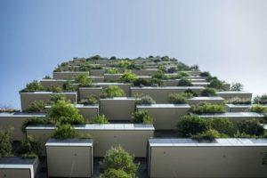 Balkone mit Bepflanzung und Balkonabdichtung