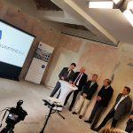 In dem gemeinsamen Pressegespräch präsentierten die Gesellschafter auch die neue Website des Baukunstarchivs NRW - Bild: Markus Lehrmann