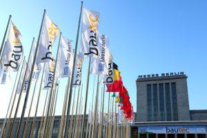 Die bautec 2018 findet vom 20. bis 23. Februar 2018 in Berlin statt. Bild: bautec