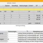Individuelle Nachtragsgruppen mit der Möglichkeit der freien Zuordnung von Positionen und Nachtragsmengen. Bild: G&W Software AG, München