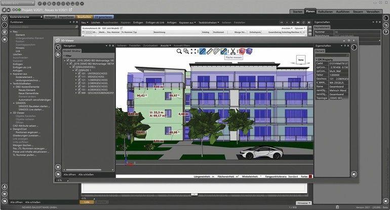 Bausoftware Screenshot