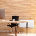 Strahlungswärme von der Wand: Anwendungsbeispiel Büro/Empfang und große Räume. Bilder: Vitramo, Tauberbischofsheim