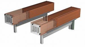 Ziegel-Rollladeneinbaukasten mit Lüftung von Beck + Heun