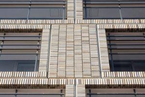Maßgeschneiderte Sortierungen: Klinkerfassaden nach Wunsch. Bild: Luuk Kramer