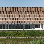 Individuell gefertigte Klinker für den Neubau des Stadtarchivs in Delft. Bilder: Stefan Müller