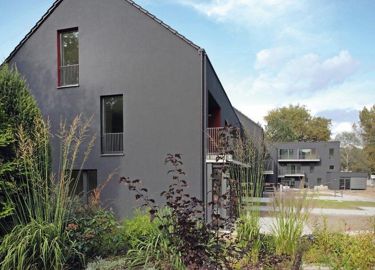 Neubau von Wohngebäuden als Ergänzung der Gartenstadt Falkenberg in Berlin