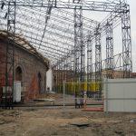 Ohne Dach und komplett verfallen: Die ehemalige Schmiede vor der Sanierung. Bild: Remmers