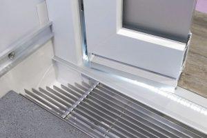 DIN 18040: Null-Millimeter-Schwelle innen und außen