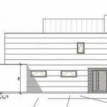 Nordansicht. Zeichnung: Dammann-Haus GmbH