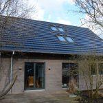 738 Dachziegel erzeugen Strom für den Eigenbedarf. Bild: Dammann-Haus GmbH