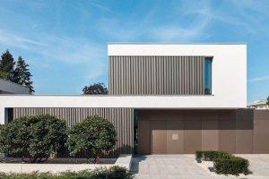 Wärmeschutzverglasungen für Neubau einer Villa in Darmstadt