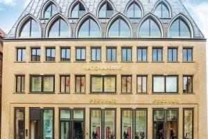 saniertes Geschäftshaus in Münster