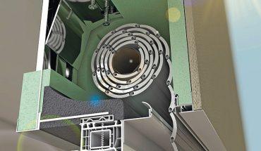Rollladen-Aufsatzkasten für vielfältige Einbausituationen