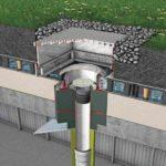 Gründach mit ACO Spin Flachdachablauf mit Retentionsaufsatz und Brandschutzeinsatz. Bild: ACO Passavant
