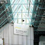 Blick auf das Oberlicht im Glaspalast Sindelfingen. Bild: Jet-Gruppe