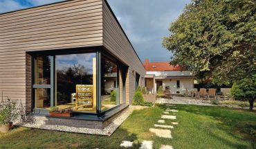Wohnhaus als Klimaholzhaus für gesundes Wohnen. Bild: Lignotrend/Fotograf: BOSA Bohumil Šálek, Bratislava
