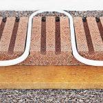 Lithowood-System: Fußbodenheizung mit hoher Trittschalldämmung. Bild: Lithowood