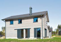 Holzfassade mit langer Haltbarkeit basiert auf Vollholzprofilen. Bild: ANSSP ArchitektenArchitekten.jpg