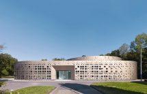 Neues Laborgebäude der Stadtentwässerungsbetriebe Köln von KSG Architekten. Bild: Yohan Zerdoun