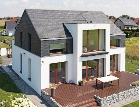 System-Rechteckdeckung für Dach und Fassade