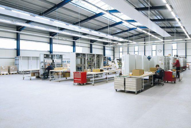 Reparaturmörtel für Industrieböden