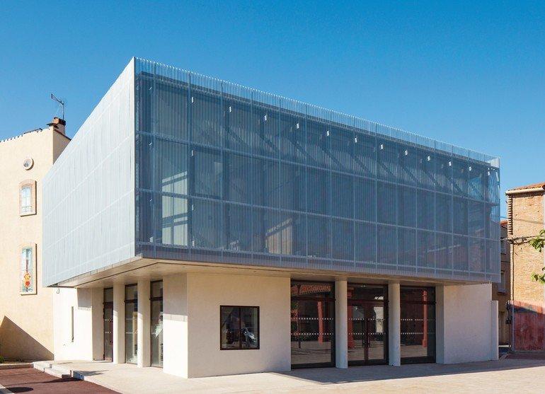 Neubau eines Fremdenverkehrsbüros im südfranzösischen Torreilles. Bilder: VMZINC | Paul Kozlowski