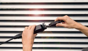 Blitz- und Überspannungsschutz für elektrischen Sonnenschutz