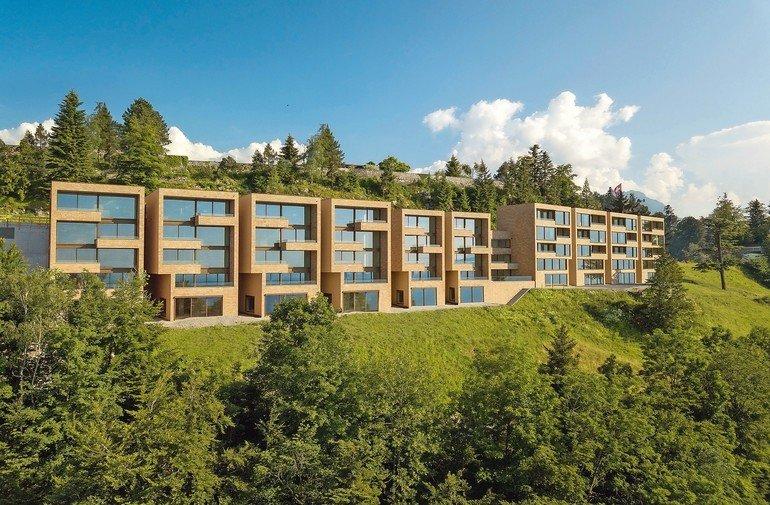 Isokorb-Lösung für großzügige Balkone, thermisch entkoppelt . Bild: Bürgenstock Hotels AG