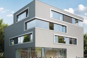 Filigrane Fenstertüren: Schlagregendichtigkeit bis 9A