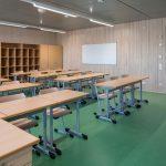 Klassenzimmer. Bild: Erne AG Holzbau | Raumwerk & Spreen Architekten AG | Thomas Koculak
