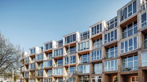 Hochwertige Sozialwohnungen ohne konventionelle Blockrandbebauung. Bild: Rasmus Hjortshoj