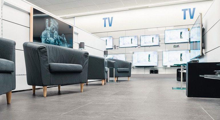 Kautschuk-Bodenbelag ist dauerhaft elastisch und gelenkschonend. Bild: Daniel Vieser