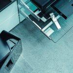 Auf einer Verkaufsfläche von etwa 130 m² wurden Kautschukfliesen des Typs norament arago in der Farbe 5177 verlegt. Bild: Daniel Vieser