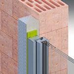 Fenstereinbau mit einem Vorwand-Montagesystem
