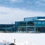 Das Siebenquell GesundZeitResort im oberfränkischen Weißenstadt ist eine der größten Thermen- und Wellnesslandschaften der Region. Bild: Agrob Buchtal GmbH / Atelier Bürger, Schwandorf