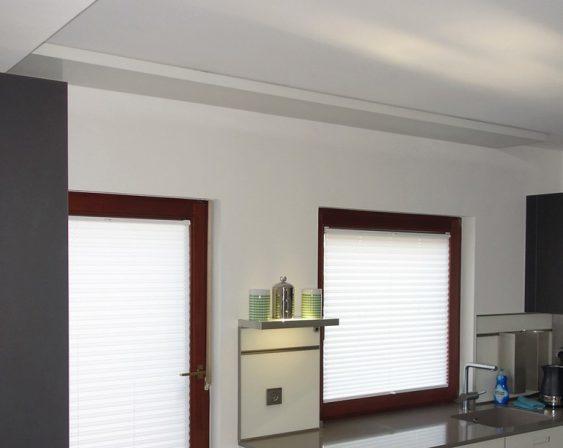 Warmwasserheizung für Fenster- und Türsturz