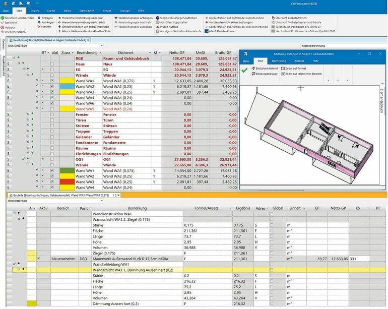 BIM-fähig für die Kostenplanung