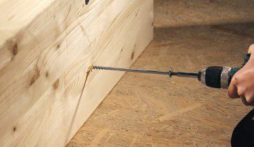 Holzbauschraube für den konstruktiven Holzbau: Schrauben in XL