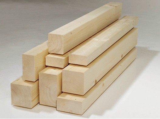 Oberflächenqualität von Konstruktionsvollholz