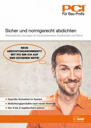 Abdichtungsnorm: Neue DIN-Normen 18531 bis 18535