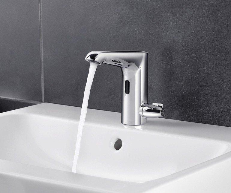 Waschtischarmatur: Wunschtemperatur exakt justieren
