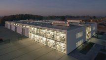 Stehleuchte für flexibel nutzbare Büroarbeitsplätze. Bild: Studio Holger Knauf, Düsseldorf