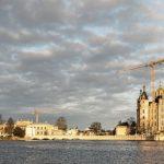 Umbau des Landtags mit neuem Plenarsaal im Schweriner Schloss: Individuelle Lösungen mit Brandschutzplatten. Bilder: Fermacell GmbH