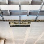 Die Decke wurde als zweilagige Konstruktion mit 2 x 20 mm Aestuver Brandschutzplatten ausgeführt. Bild: Fermacell GmbH