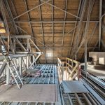 Mit einer doppelten Lage aus 2 x 15 mm Brandschutzplatten wurde der Fußboden der Technikebene ausgeführt (Brandschutzklasse F 30). Bild: Fermacell GmbH